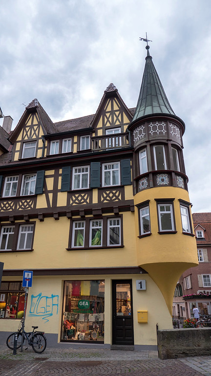 Unique architecture in Tubingen. Things to do in Tubingen Germany.