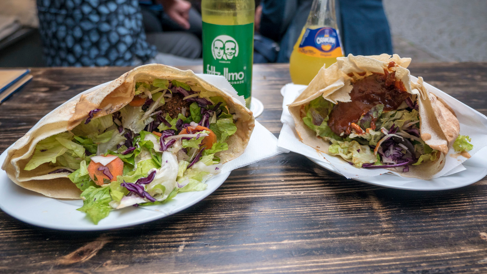 Vegi. Vegan pitas. Things to do in Tubingen Germany.