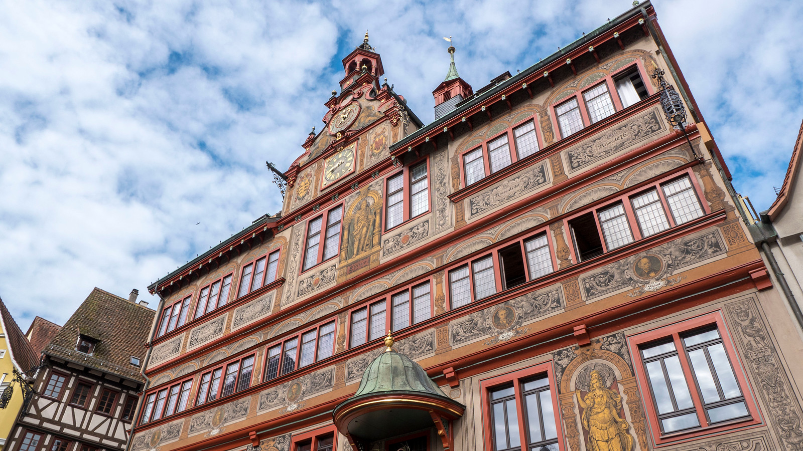 Rathaus. City Hall in Tubingen. Things to do in Tubingen Germany.
