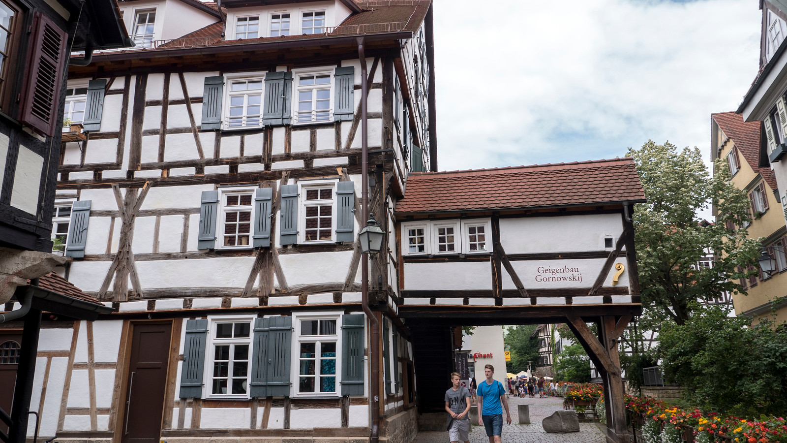 Things to do in Tubingen Germany - HalfTimbered House in Tubingen