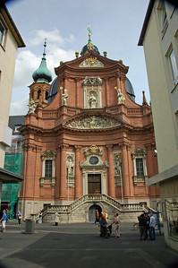 Neumunster-Kirche, Wurzburg