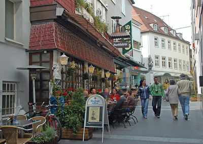 Strolling through the streets of Wurzburg