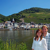 White wine on the Rhine! Zell Germany