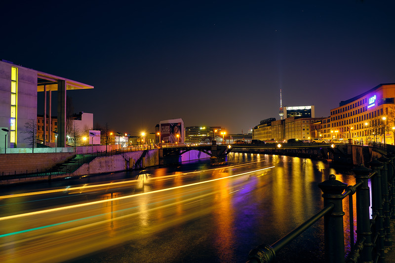 Berlin at Night.