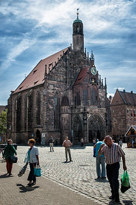 Richards___The Church of Our Lady (Die Frauenkirche) at the Nurnburg Market Square