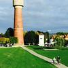 River front park in Ladenburg