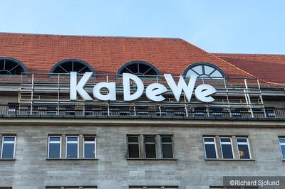 Kaufhaus des Westens KaDeWe Berlin Germany