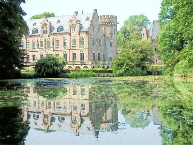 Schloss Paffendorf - Paffendorf Germany Sketch 500 PPI
