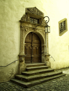 Kemmerer___City Hall Door in Rothenburg