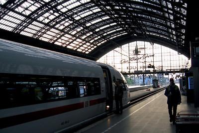Köln Hauptbahnhof, Central Station, Cologne, North Rhine-Westphalia, Germany