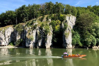 Danube River, Kelheim, Bavaria, Germany