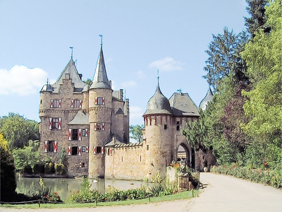 Burg Satsvey Sketch - Satsvey Germany 500 PPI