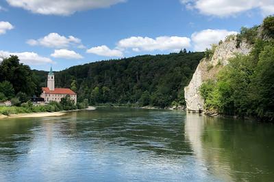 Kloster Weltenburg, Weltenburg Abbey, Danube River, Kelheim, Bavaria, Germany