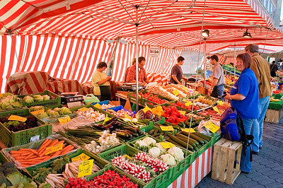 Richards___A Vegetable Market in Nurnburg