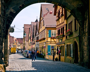 Richards___Another Rothenburg Gate