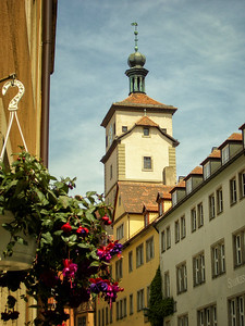 Kemmerer___A Tower in Rothenburg