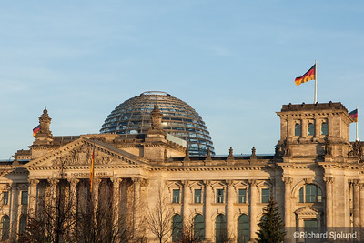 The Reichstag Building in Berlin Germany