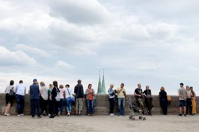 Nürnberg Castle, Sebalder Altstadt, Old Town, Sebalduskirche, St. Sebald Church, Nürnberg, Nuremberg, Franconia, Bavaria, Germany