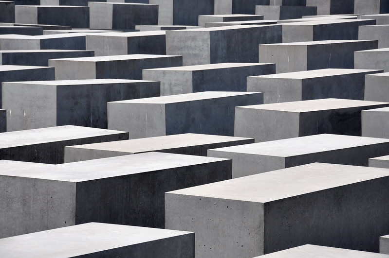 Berlin Holocaust Memorial from Above. 2010.