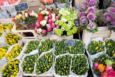 Flower Stand, Köln Altstadt, Cologne, North Rhine-Westphalia, Germany