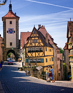 Richards___Die Ecke in Rothenburg