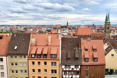Sebalduskirche, St. Sebald Church, Sebalder Altstadt, Old Town, Nürnberg, Nuremberg, Franconia, Bavaria, Germany