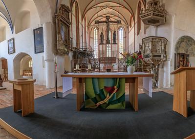 Altar, Marienkirche Gardelegen
