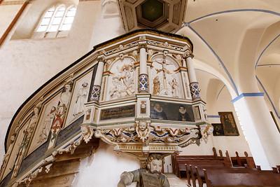 Kanzel, Marienkirche Gardelegen