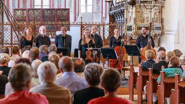 Anne Maria Wehrmeyer und das Ensemble Halle Barock in der Marienkirche, Gardelegen,