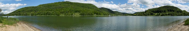 Happurger dammed lake