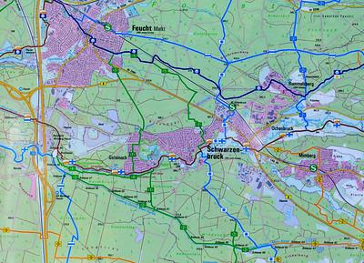 Nürnberger Land Wandertour Schwarzachschlucht und Brückkanal