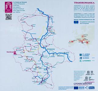 Bendiktinerkloster, Karte