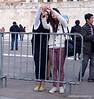 Two women taking a selfie in Athens, Greece in February 2014