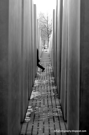 Holocaust memorial in Berlin - February 2014