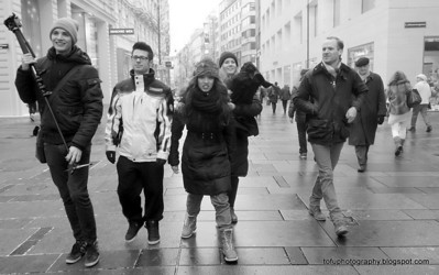 Walking around Vienna with a compact camera pt 4 - January 2014