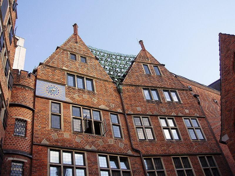 Böttcherstraße Haus des Glockenspiels.