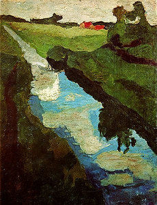 Painting by Paula Modersohn Becker.
