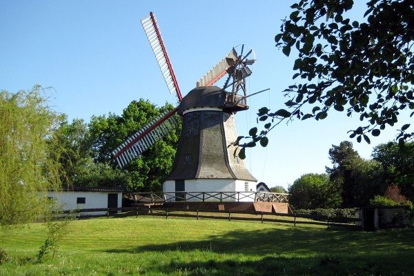 The Worpswede Mill.