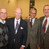 Dr. Art Barrett, Former Mayor Judge Dave Armstrong, Larry Muhammad and John Hale of U of L.