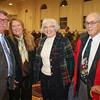 Filson Director Mark Wetherington, Glenna Pfeiffer, Emily Durrett and Leonard Gross.