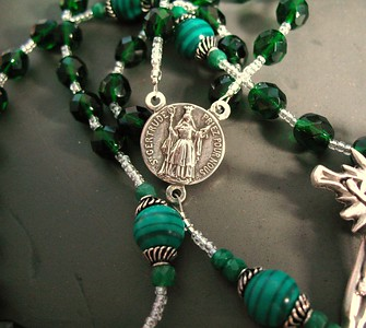 gertrude in green rosary