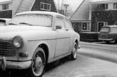 Davidstraat in the snow