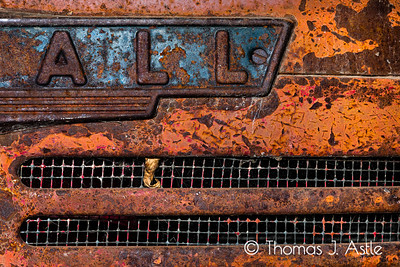 Vintage Farmall Tractor Detail