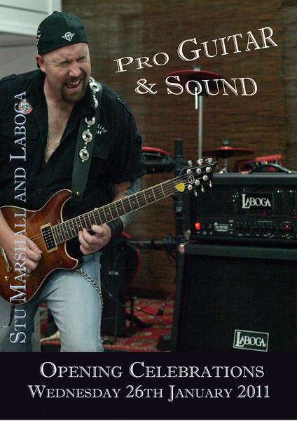Pro Guitar & Sound Poster