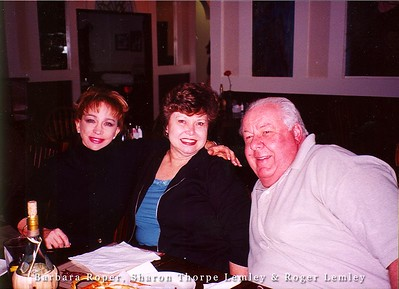 Barbara Roper, Sharon Thorpe & Roger Lemley