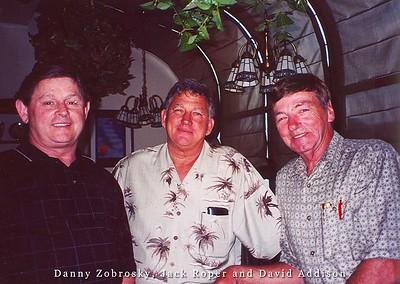 Danny Zobrosky, Jack Roper and David Addison2