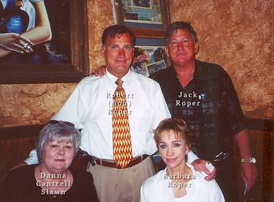 Danna Cantrell, Barbara, Robert & Jack Roper