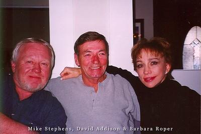 Mike Stephens, David Addison and Barbara Roper