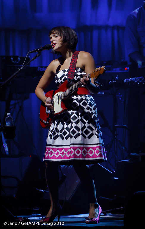 Nora Jones@ The Moran Theater - 8-12-2010