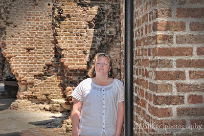 Melinda found the only place with a breeze @ Fort Sumter, it was very HOT there!